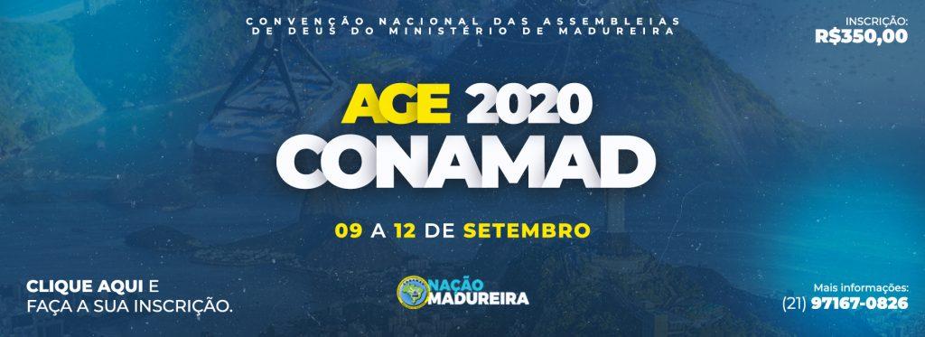 Inscrição CONAMAD 2020